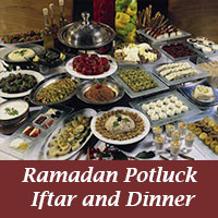Iftar Pot Luck June 17, Ramadan Notes for Students, Faculty