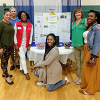 Myrtle Beach Campus Counseling Students Volunteer at Local Health Fair