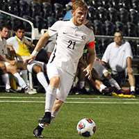 Justin Schmidt becomes the second Webster Soccer player to receive United Soccer Coaches Scholar All-American Team honors.