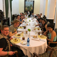 Students Enjoy Faculty Led Spring Break Trips to Greece, Costa Rica, Cuba, and Ecuador