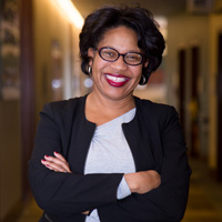 Simone Cummings, dean of the George Herbert Walker School of Business and Technology