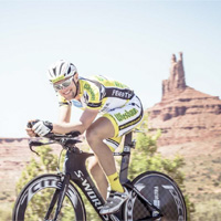 After surviving a car crash, Strasser has gone on to win several ultra-cycling races, and is a five-time winner of Race Across America.
