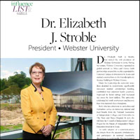 Webster President Named Among Most Influential People in St. Louis