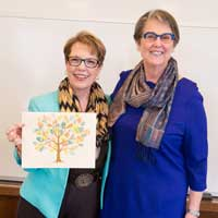 Centennial Planning Committee Honors Chair Elizabeth Robb