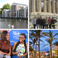 Webster's international campus network opens pathways for student mobility.