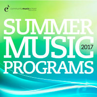 Community Music School Summer Camps for Kids