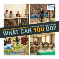 2019 Sustainability Summer Lunch and Learn Series
