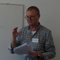 Author and Consultant, Dr. Svend Hollensen, Visits Webster Vienna