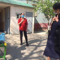 Tashkent MBA Student Assists Those in Need During COVID Outbreak