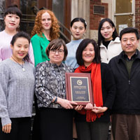 One Month, Two Honors for the Confucius Institute at Webster