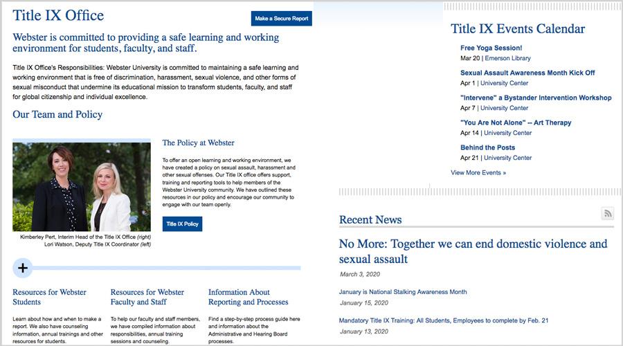 Title IX site