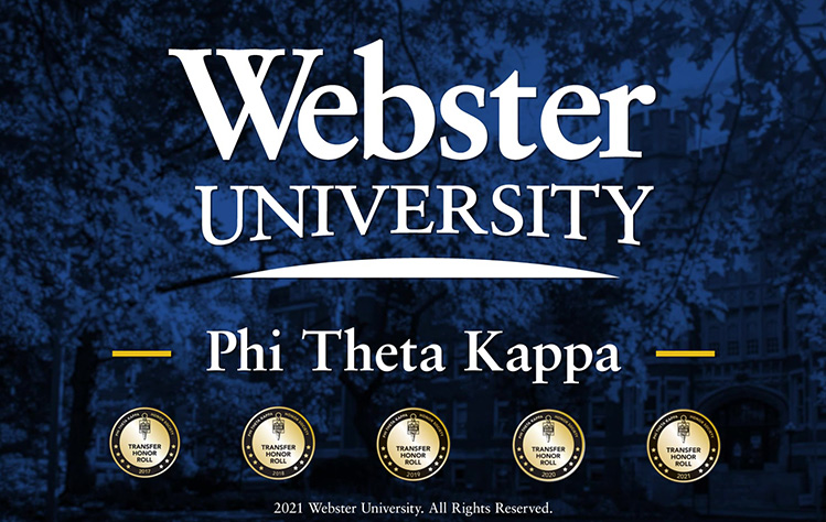 Webster has been named to the Honor Roll 5 consecutive years