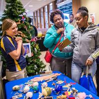 Global Holiday Tree Trimming Snapshots