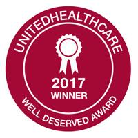 Webster Wellness Earns UHC Well Deserved Award