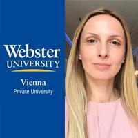 Webster Vienna Spotlight Alumna Aleksandra Mandrapa