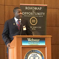 Webster Welcomes Urban League for 'Forward: Action, Empowerment through Education'