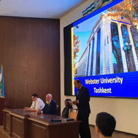 Webster University Uzbekistan Met with Students In Samarkand and Karshi