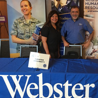 Webster at Yellow Ribbon Program Event in San Antonio