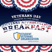 Annual Military Appreciation Breakfast Nov. 12
