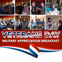 Annual Veterans Day Military Appreciation Breakfast Nov. 10