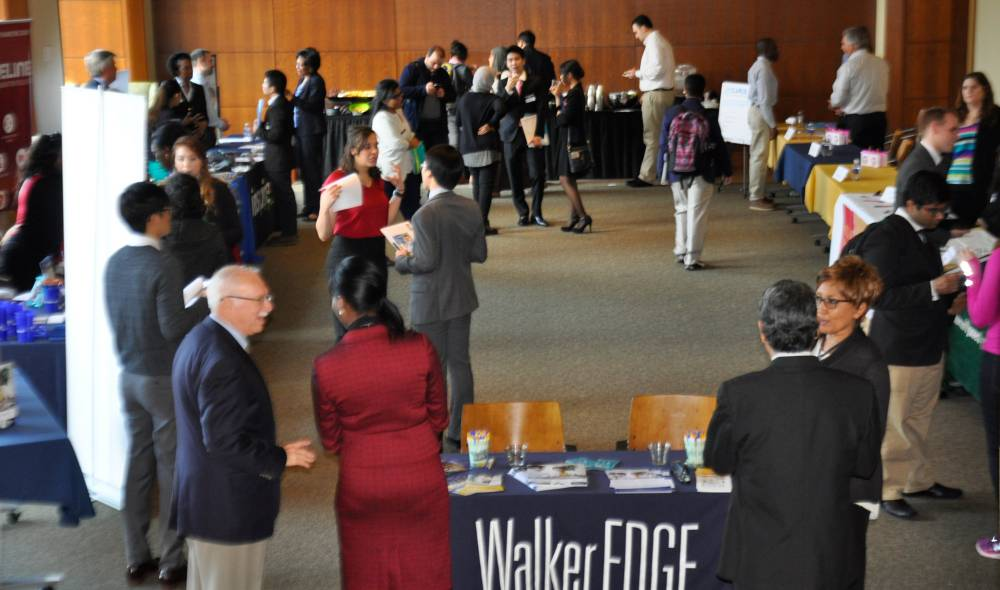 Walker EDGE Internship fair