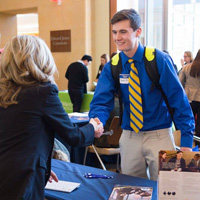 Snapshots: Walker EDGE Internship Fair