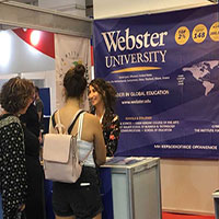 Webster University Athens participates at the Thessaloniki International Fair 2018