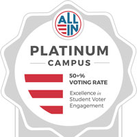 Webster University Receives Three National Voting Awards