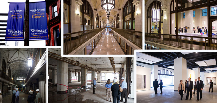 The Arcade Building renovation completed in time for Webster classes to begin in 2016