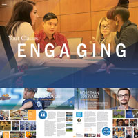 Views of the 2016 undergraduate recruitment viewbook
