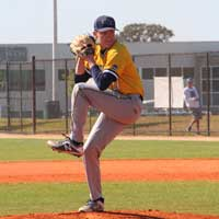 Jake Anderson, freshman pitcher