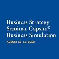 Webster Welcomes Area Business Leaders for a Two-Day Capsim Seminar