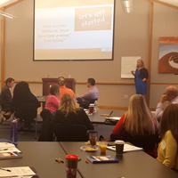 Twenty companies were on campus for the Total Internship Management Workshop.