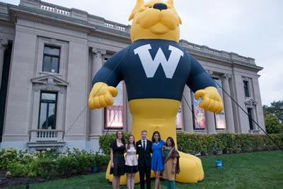 Students attended the 2015 Centennial Alumni Dinner/Dance at the Missouri History Museum in Forest Park.