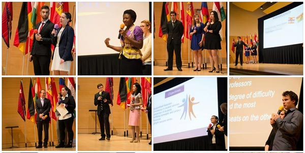 The Global Student Leadership Summit brought 20 undergrad and graduate students from around Webster to gather for case studies, leadership exercises and student-led proposals to strengthen Webster and build their own leadership skills and cultural awareness.