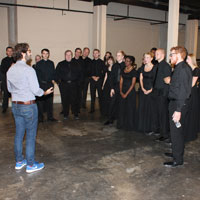 Chamber Singers Shine in Peabody Appearance with Josh Groban