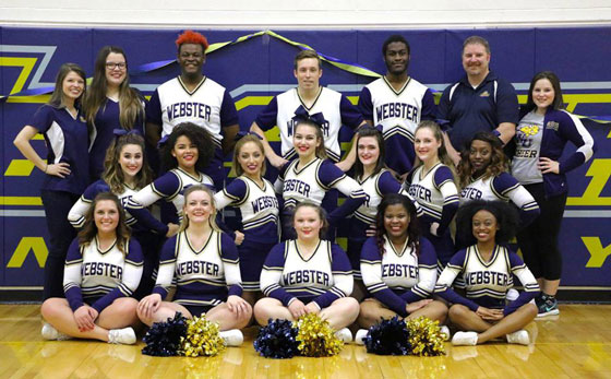 Webster University Competitive Cheerleading Squad