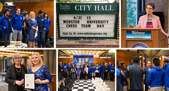 Champion chess team honored on campus, in Webster Groves