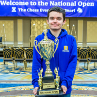 Nyzhnyk's U.S. Open title is the 57th national title won by a Webster chess team member.