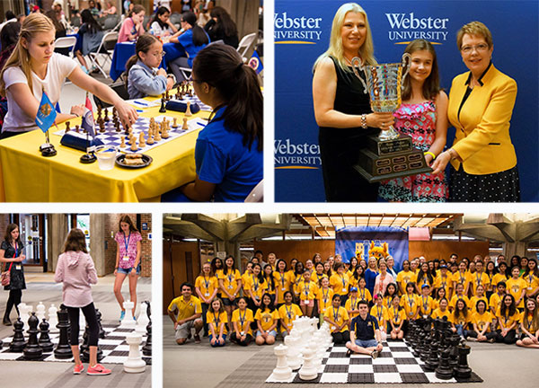 Scenes from the 14th annual Susan Polgar Foundation Girls' Invitational