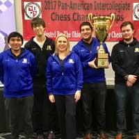 Webster Wins Sixth Consecutive Pan-Am Chess Tournament, Heads to Final Four
