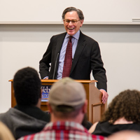 Video: Sidney Blumenthal discusses Abraham Lincoln in Visit to Webster