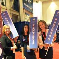 Webster Students and Faculty Work Behind the Scenes at Presidential Debate