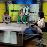 """Associate Vice President for Diversity and Inclusion Nicole Roach and President Elizabeth (Beth) J. Stroble discussed several topics on KPLR's """"The Pulse."""""""