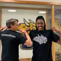 Special Diversity and Inclusion Shirt to be Handed Out at Weekend Basketball Game