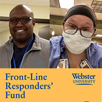 The Front-Line Responders Fund supports students who are working in pandemic response.