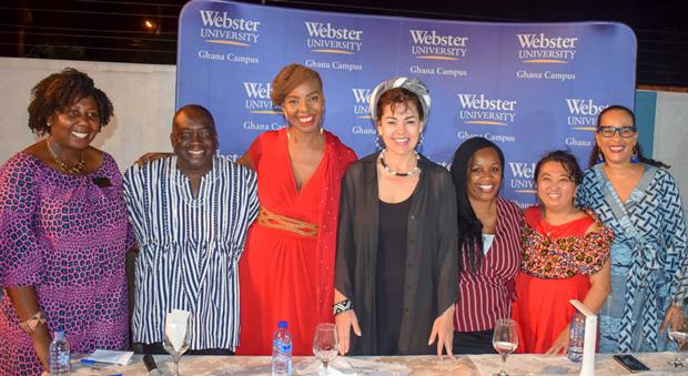 """The panelists and moderators for """"MeToo from an African perspective"""""""