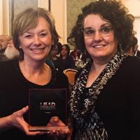 Broeder and Hubenschmidt accepted the awards for Webster