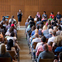 Graduate Student Orientation Attracts 150 New to Webster