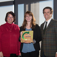 Webster Wins Green Business Challenge Award